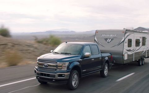 The 2018 Ford F-150 will be offered with a 3.0-liter diesel making 250 hp and 440 lb-ft of torque.