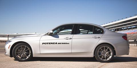 The Potenza RE980AS is Bridgestone's latest ultra-high performance all-season tire.