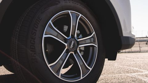 The Bridgestone Ecopia H/L 422 Plus is designed to help drivers of SUVs and crossovers improve their fuel economy.