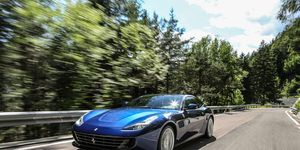 The GTC4Lusso is an evolution of the awd FF, with more power, better awd system and a more refined interior. It goes on sale in September at $300,000.