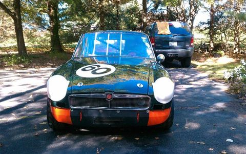The last time the MGB was raced was Labor Day 2011.