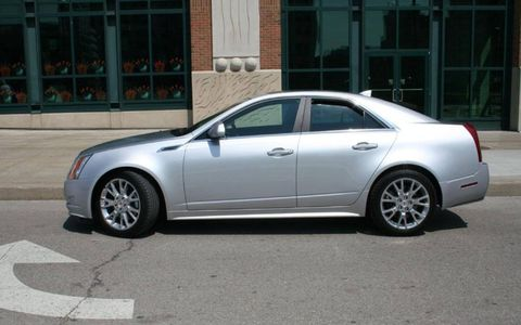 Driver's Log Gallery: 2010 Cadillac CTS