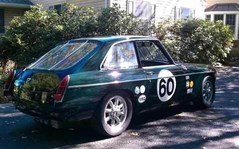 We say it looks best in British Racing Green.