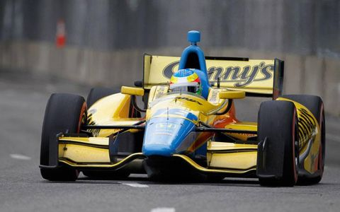 Mike Conway's win at Belle Isle was the second of his IndyCar career.