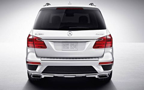 The GL550 is full of luxury, but at a steep price as ours topped out at just over $100,000