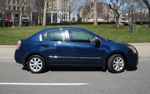 Driver's Log Gallery: 2010 Nissan Sentra SL