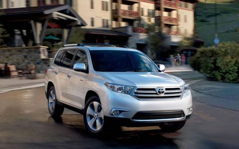 The Highlander comes equipped with a 3.5-liter V6 producing 270-hp