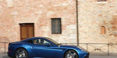The Ferrari California T is Ferrari's first turbo charged car in 25 years.