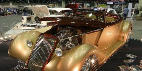 Kevin and Karen Alstott's 1935 Ford Roadster