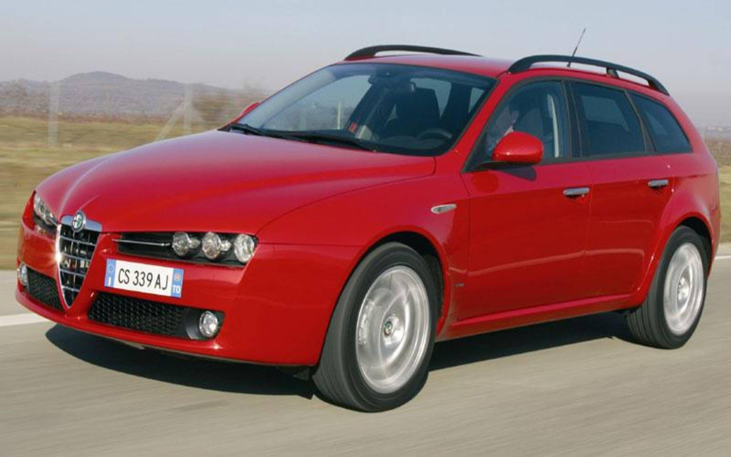 2006 Alfa Romeo 159 3 2 Q4 Sportwagon The Best Non German Wagon