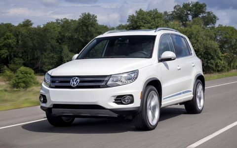 The Volkswagen Tiguan R-Line price tag tops $40K.