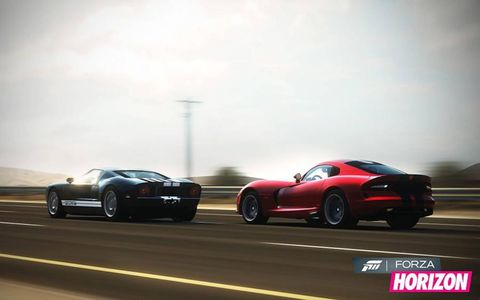 Ford GT and SRT Viper