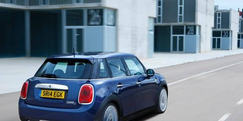 The Mini 5-door expands on Mini's success with the Cooper hatchback, offering more versatility.