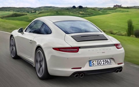 A sport exhaust system and Porsche's Active Suspension Management System is included