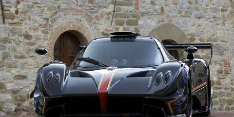 The Pagani Zonda Revolucion uses a Mercedes 6.0-liter V12.