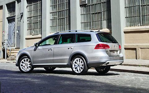 To keep development costs in check, the wagon and the crossover would share the same steel body and mechanical package.