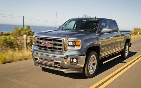 Big, bold and... blocky, the 2014 GMC Sierra is hard to tell from the Chevy Silverado.
