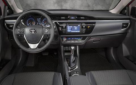 A new interior mimics the Avalon's, too.
