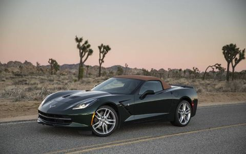 The Stingray's aluminum chassis is 40 percent stiffer than the out going model's.