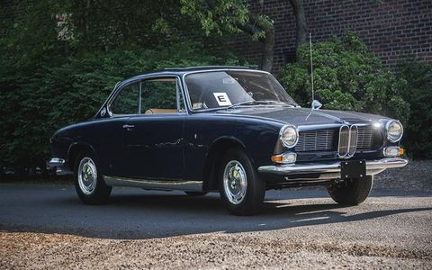 We loved seeing this rare BMW 3200 CS Coupe.