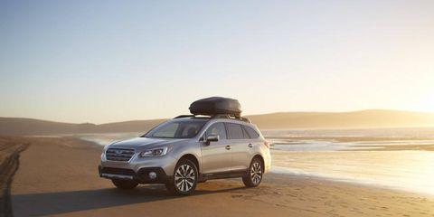 The 2015 Subaru Outback starts at $25,745