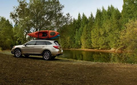 The 2015 Subaru Outback comes with increased fuel economy across all model lines.