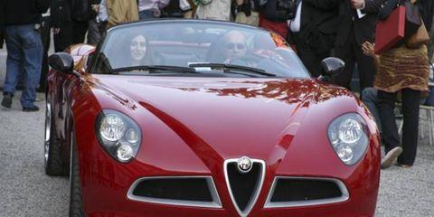 Alfa Romeo 8C Spider 2005