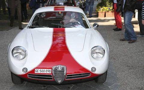 Alfa Romeo Giulietta SZ Coda Tronca 1962