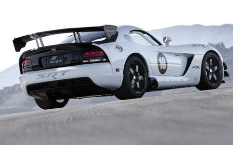 Driver's Log Gallery: 2010 Dodge Viper ACR-X