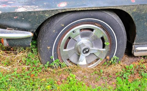 Radial tires installed in 1967 gave the Vette better handling than the original bias-ply rubber