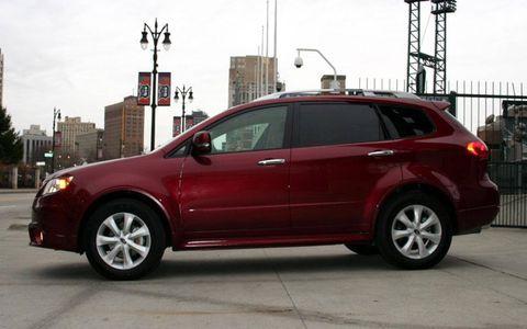 Driver's Log Gallery: 2010 Subaru Tribeca