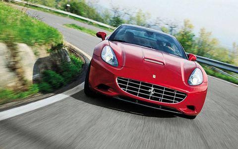 The 2013 Ferrari California drive review.
