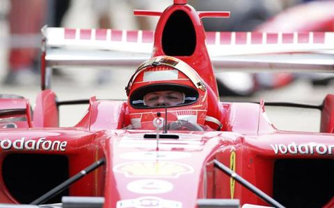 2006 US Grand Prix - Michael Schumacher takes his 5th Indy victory.