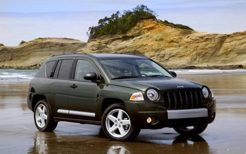 """Fuel economy? Ride comfort? Packaging efficiency? Those traits used to rank somewhere below """"bud vase"""" on the list of things a Jeep owner was after in a vehicle. But now they're being embraced, as Jeep tries to extend its reach past the group it enticed into the fold with the much hardier, Trail-Rated Liberty (60 percent of Liberty buyers are women; 71 percent of Wrangler buyers are men). As the compact ute market grows—Jeep estimates the segment will double to 600,000 units by 2010 and hit 814,000 sales by 2016—Compass gives Jeep a soft-roader option neither of those models can fill."""