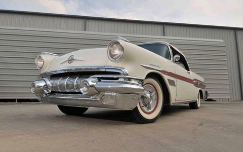 This 1957 Pontiac Bonneville convertible is one of just 630 built