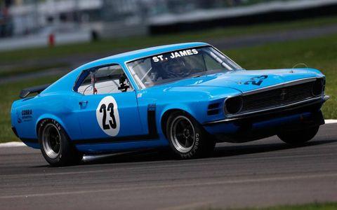 Indianapolis 500 veteran Lyn St. James was back at the Brickyard.