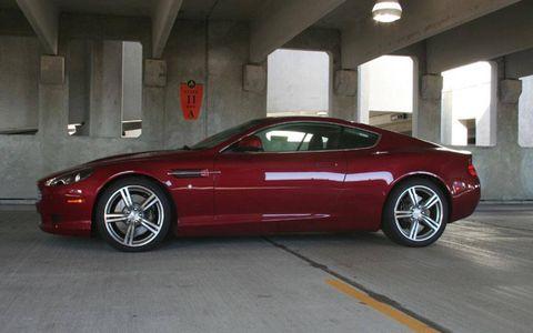 Driver's Log Gallery: 2010 Aston Martin DB9