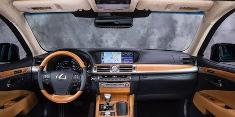 The 2013 Lexus LS 600h L has a luxury interior, and the added benefits of optional multifunction massaging seats.