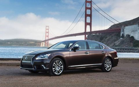 The 2013 Lexus LS 600h L comes in with a base price of $120,805 with our tester topping off at $128,529.