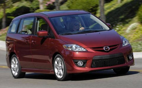 Driver's Log Gallery: 2010 Mazda 5 Touring