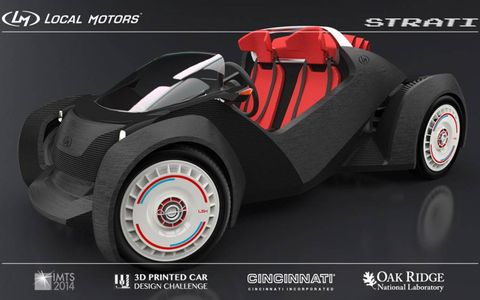 The winning Local Motors design by Michele Anoé of Italy.