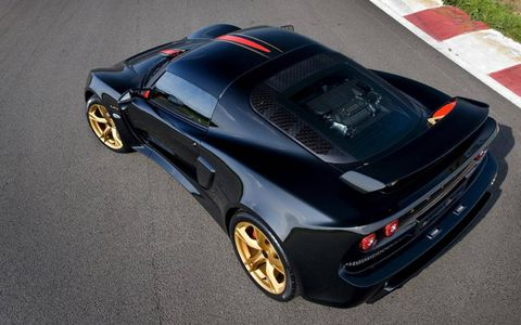 The Lotus Exige LF1 gets a 345-hp V6.