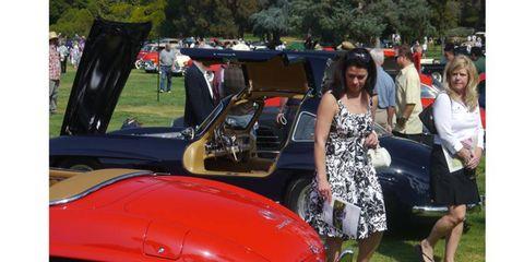 It was Gullwings galore at the San Marino Motor Classic.