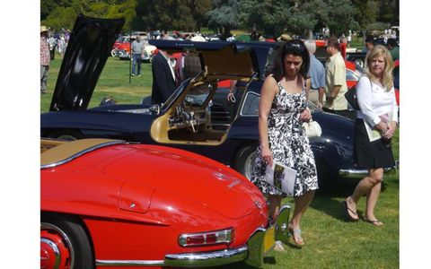 It was Gullwings galore at the San Marino Motor Classic.