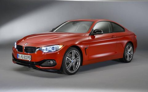 The The BMW 4-series takes the place of the 3-series coupe.