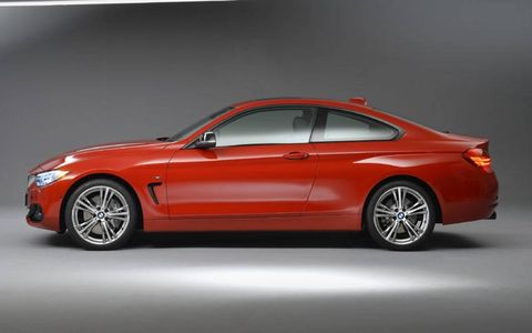 The BMW 4-series debuted at the Detroit auto show.