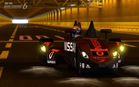 """When we tried out """"Gran Turismo 6,"""" we drove a Delta Wing."""