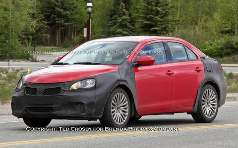 This Suzuki sedan is due later this year at U.S. dealerships.