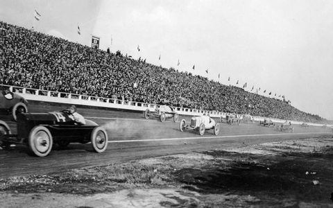 From 1919 to 1924, Beverly Hills had a 1.25-mile speedway that attracted 70,000 spectators per event.