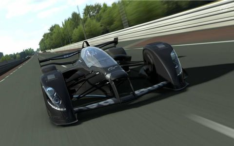 """One of the 1200 cars available in """"Gran Turismo 6."""""""